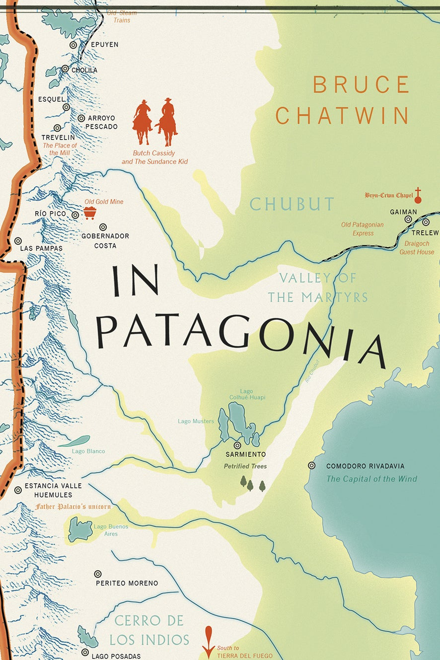 In Patagonia by Bruce Chatwin and Nicholas Shakes