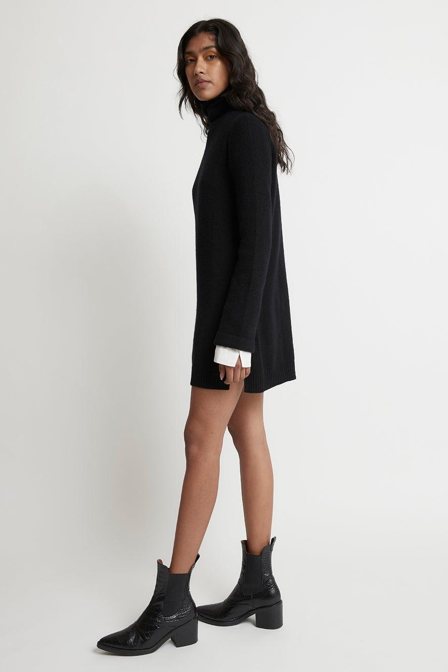 Jean Tunic Cashmere Dress