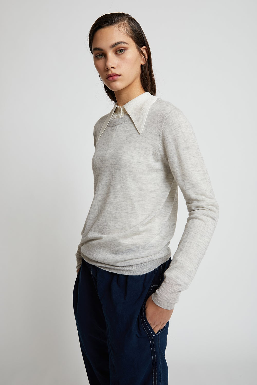 Joseph Cashair Long Sleeve Sweater