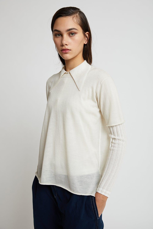 Joseph Cashair Short Sleeve Tee Sweater