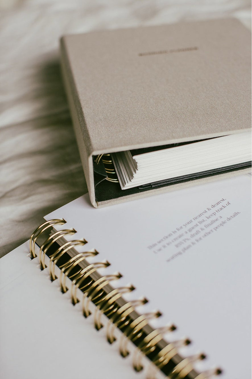 Together Journal x An Organised Life Wedding Planner