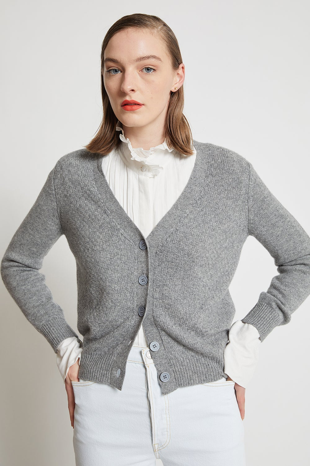 Jumper1234 Moss Side Cardigan