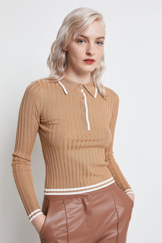 June Long Sleeve Polo