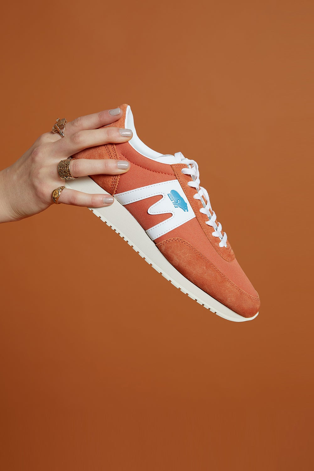 Karhu Albatross Burnt Orange/White