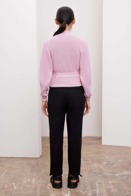 Kowtow Composure Cardigan Pastel Pink