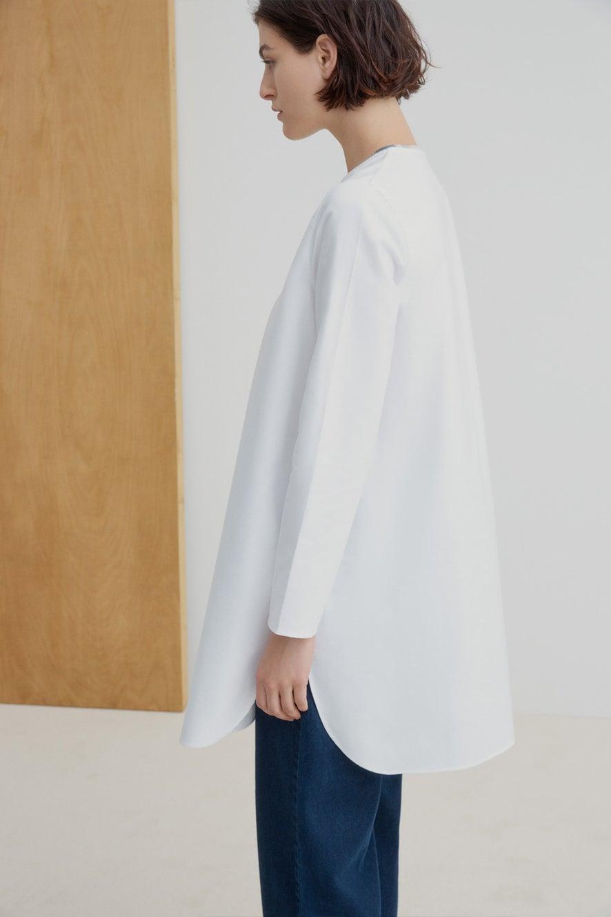 Kowtow Document Shirt White