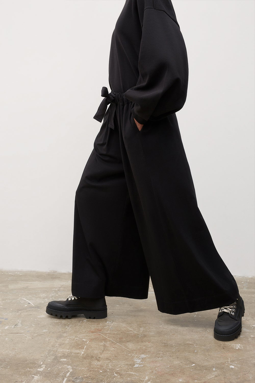 Kowtow Gather Pant Black