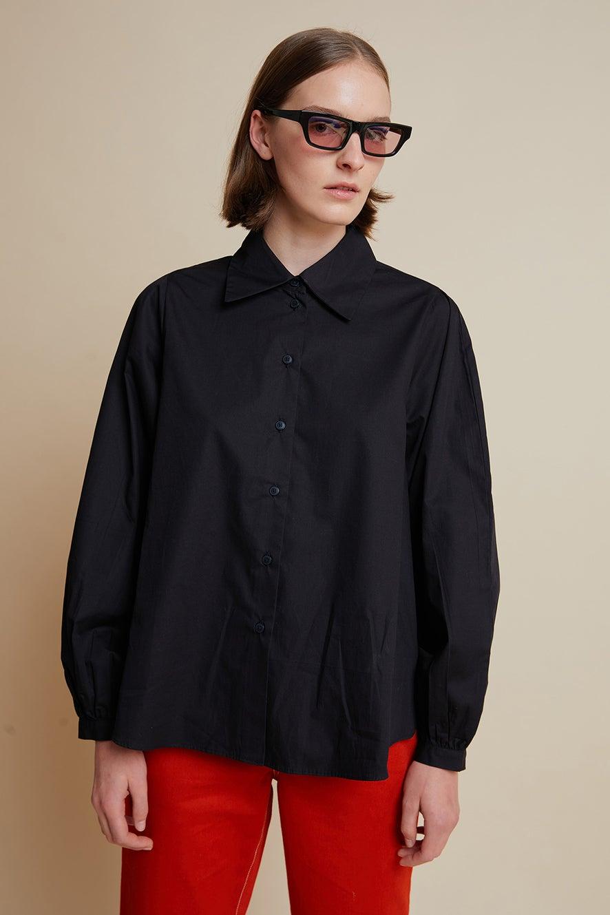 Kowtow Lens Shirt Black