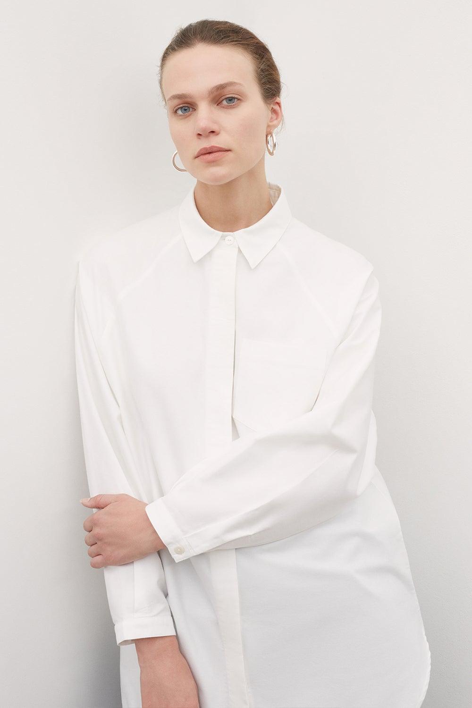 Kowtow Oversized Shirt White