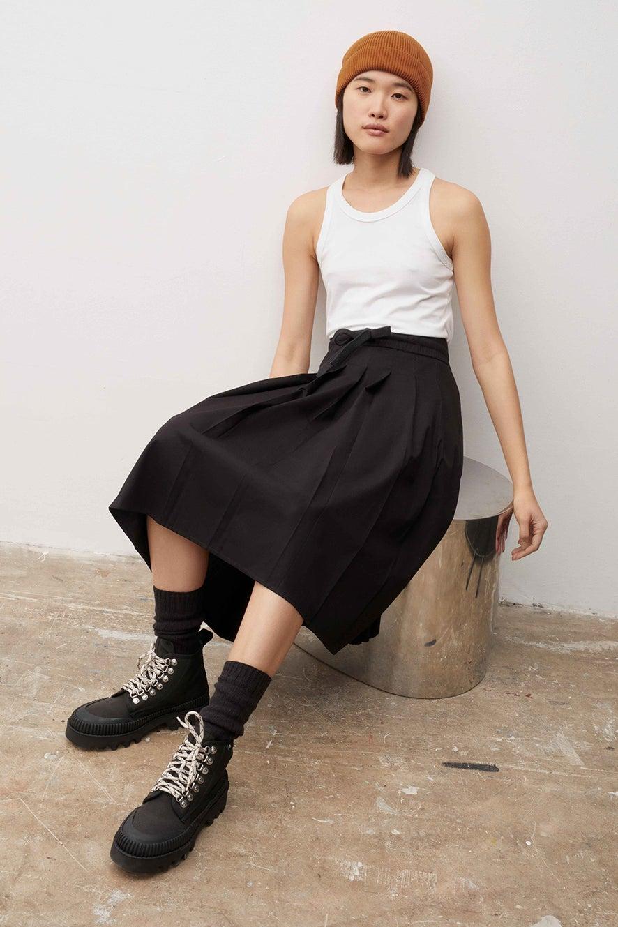 Kowtow Pace Skirt Black