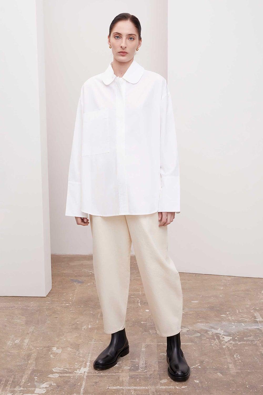 Kowtow Playground Shirt White
