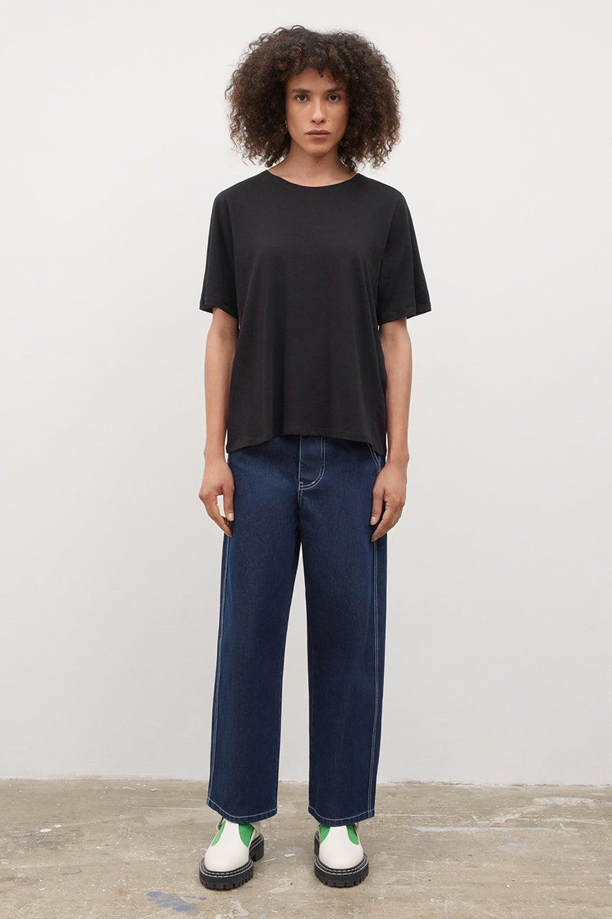 Kowtow Relaxed Tee Black