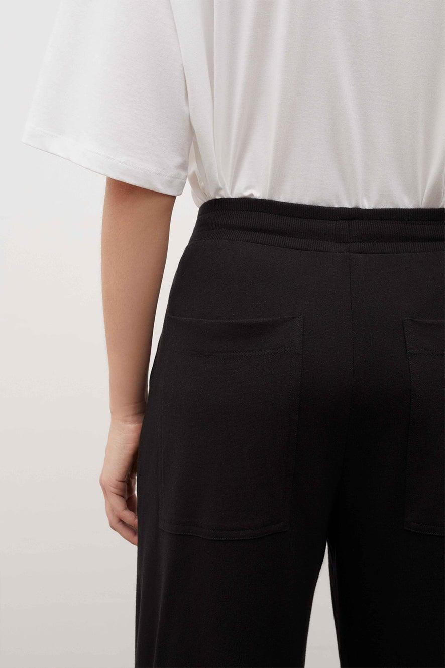 Kowtow Wide Leg Pant Black