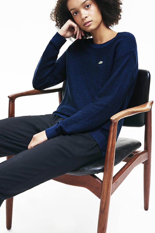 Lacoste Boat Neck Classic Cotton Sweater