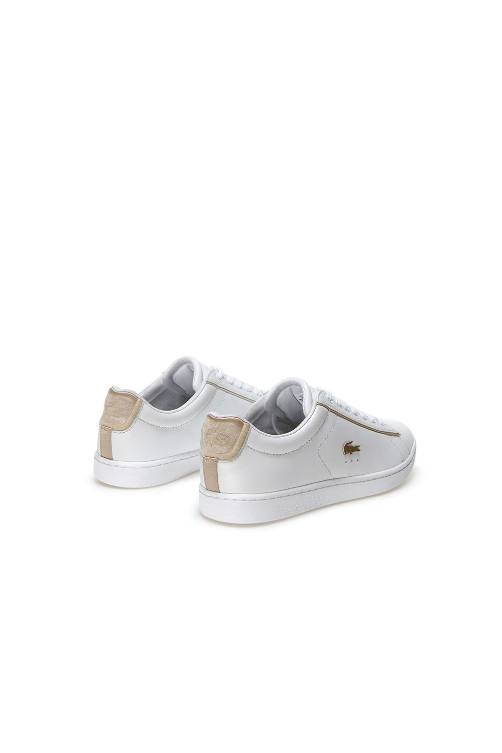 Lacoste Carnaby Evo Contrast Leather Trainers