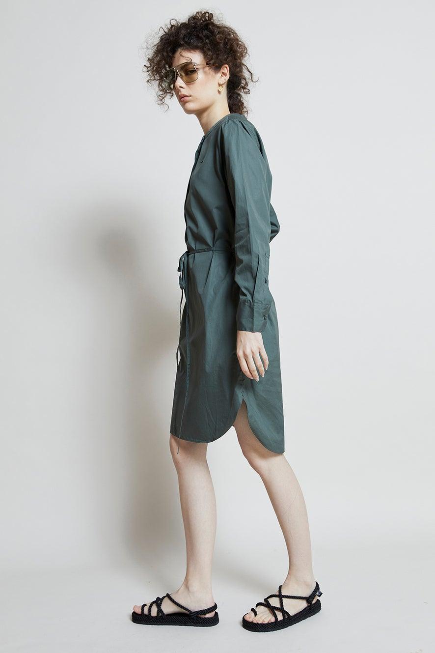 Lacoste Classic Poplin Shirt Dress