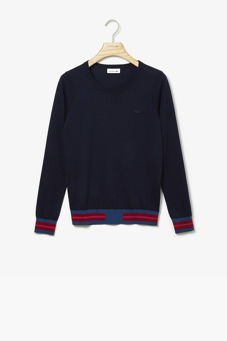 Lacoste Clean Stripes Knit