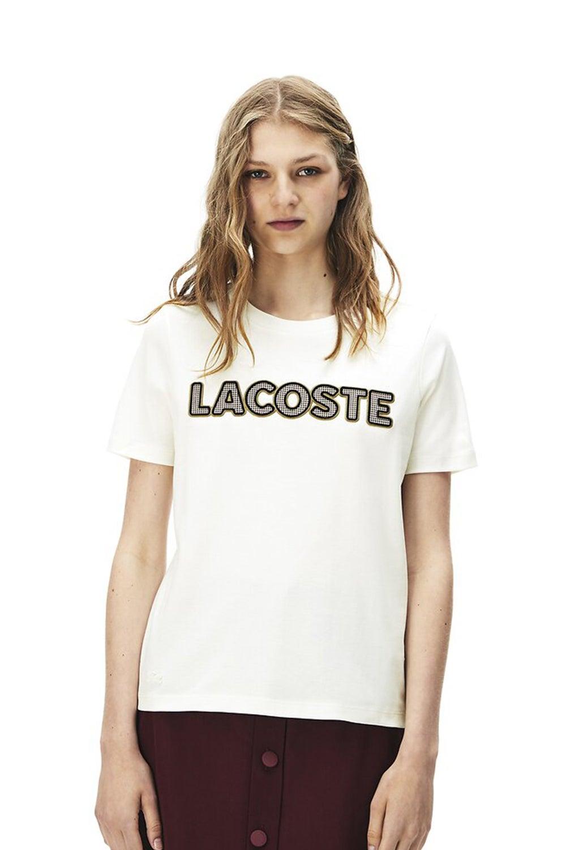 Lacoste Crew Neck Logo T-shirt