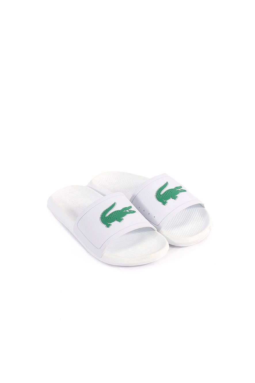 Lacoste Croco Rubber Slides W