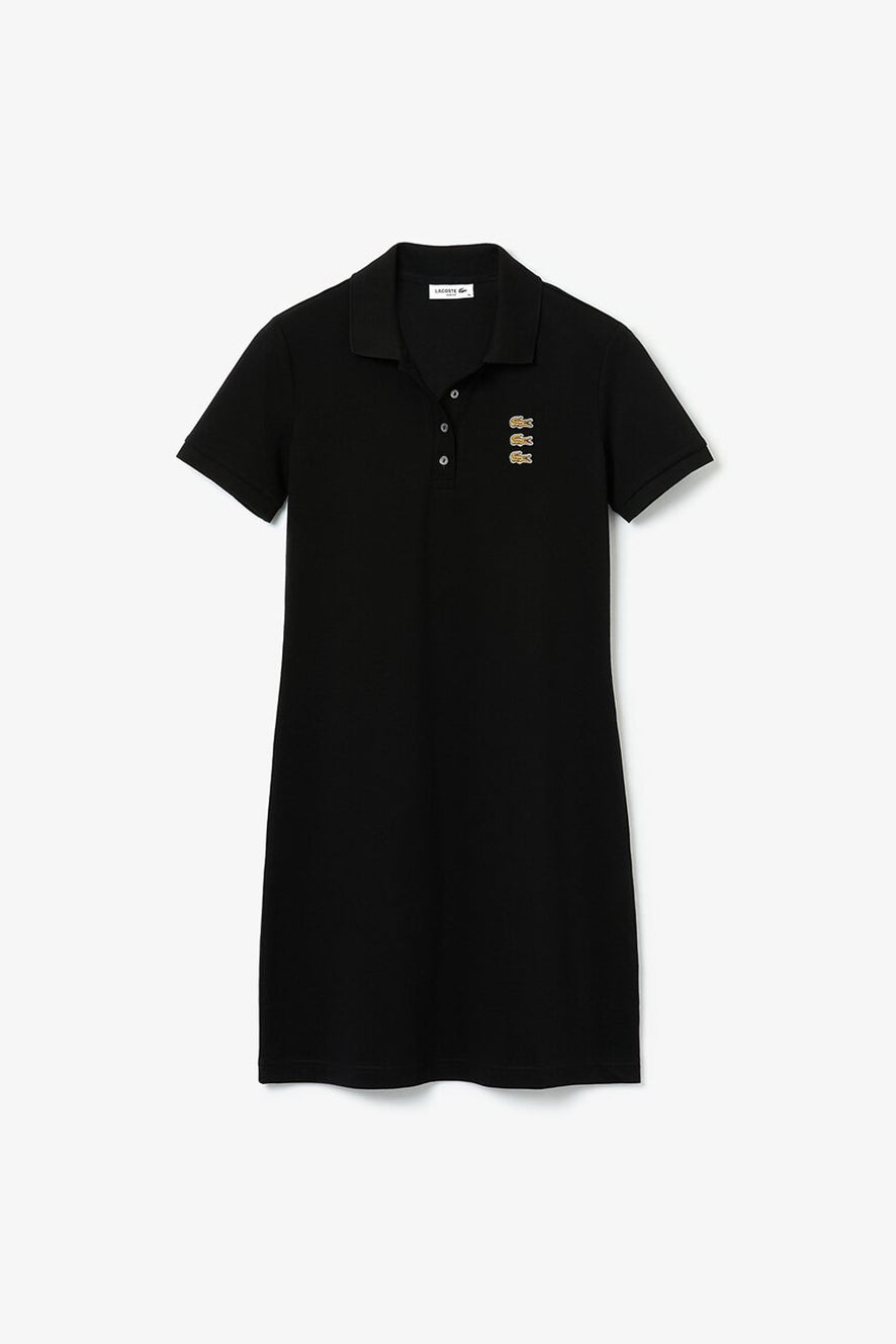 Lacoste Fancy Croc Polo Dress