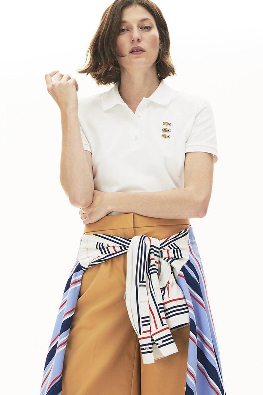 Lacoste Fancy Croc Slim Fit Polo