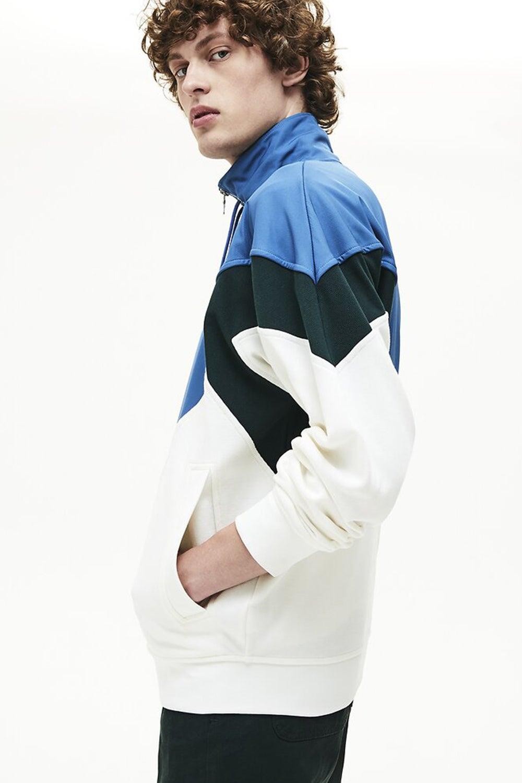 Lacoste Heritage Zip Front Sweatshirt