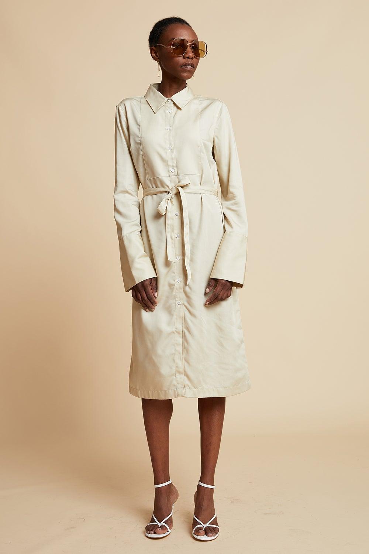 Lacoste L!ve Feminie Shirt Dress