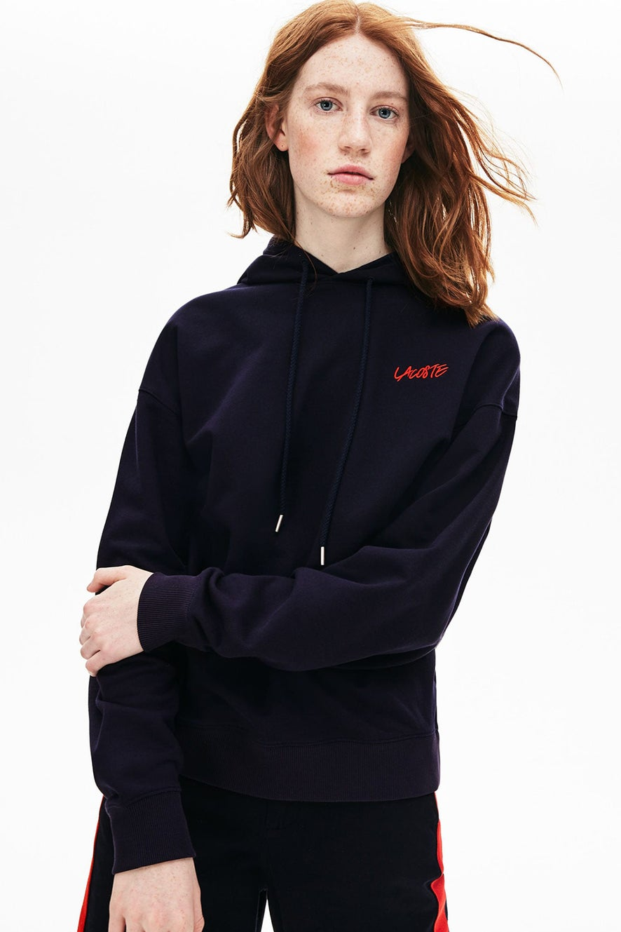 Lacoste L!VE Picture Frame Hooded Sweat