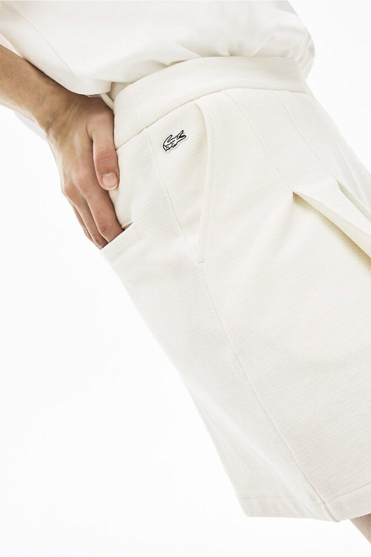 Lacoste L!ve Piqué Pleated Shorts