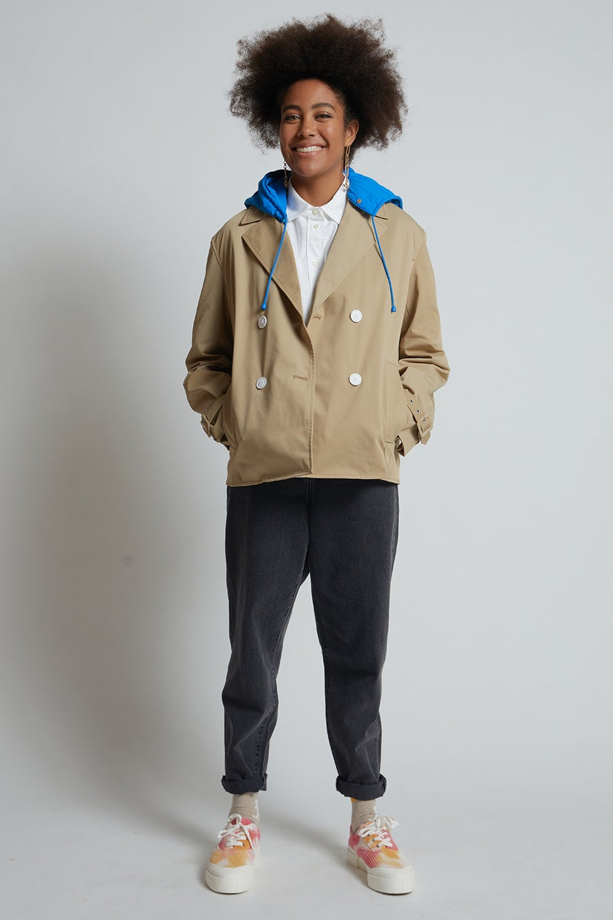 Lacoste L!ve Reconstructed Jacket