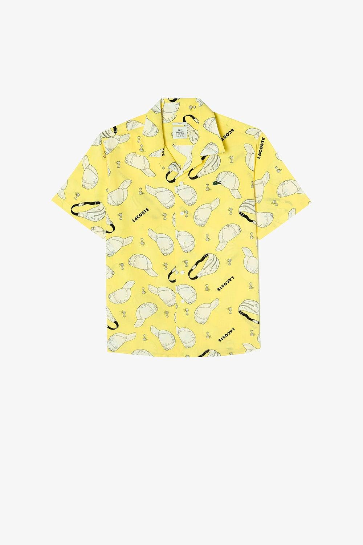 Lacoste L!ve Street Hawaiian Shirt