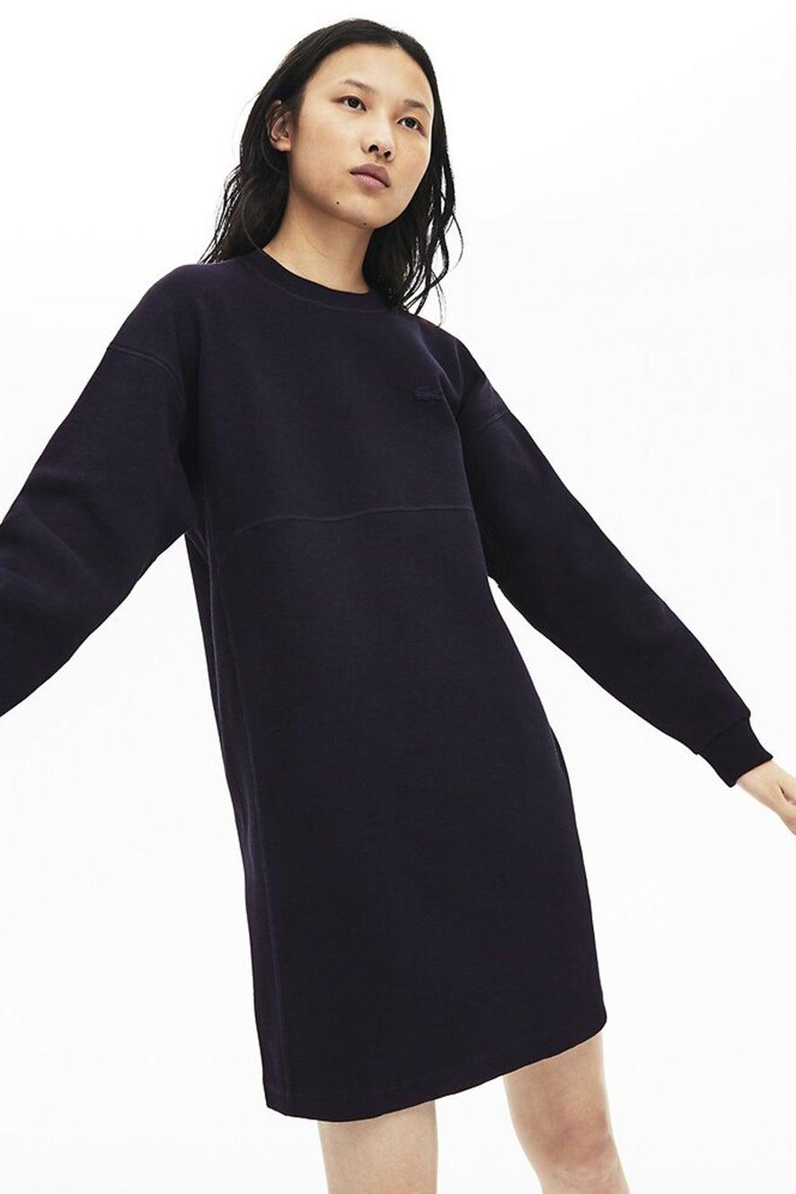 Lacoste Motion Sweatshirt Dress