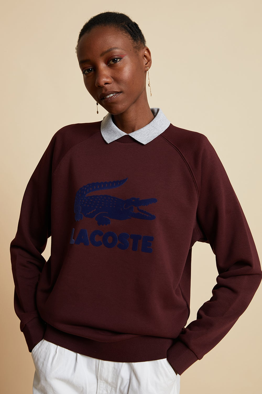 Lacoste Printed Sweatshirt