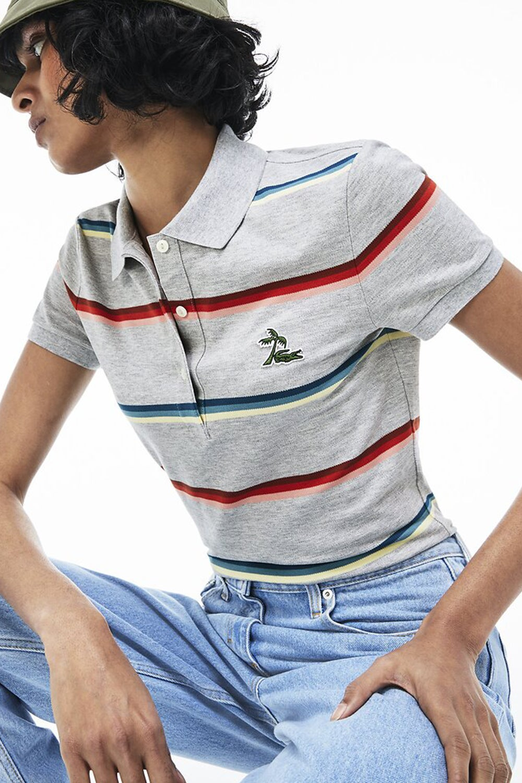 Lacoste Rainbow Stripe Polo