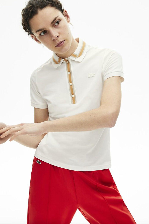 Lacoste Semi Fancy Ribbon Collar Polo