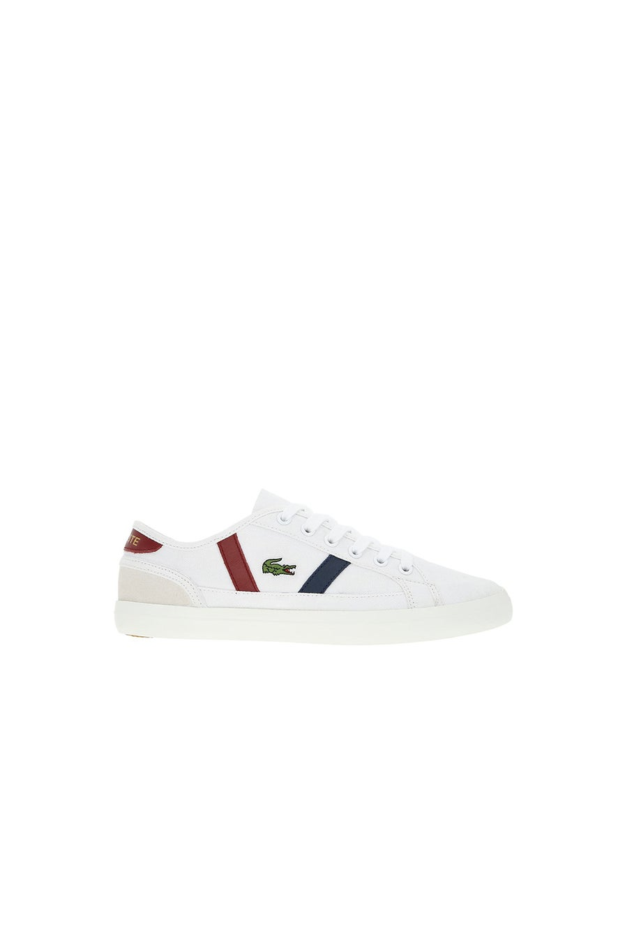 Lacoste Sideline Canvas and Leather Trainers W