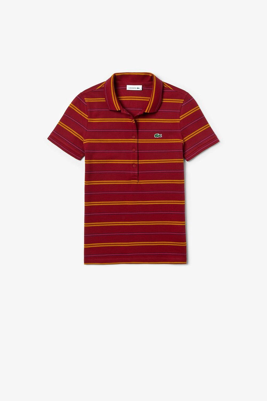 Lacoste Slim Striped Polo