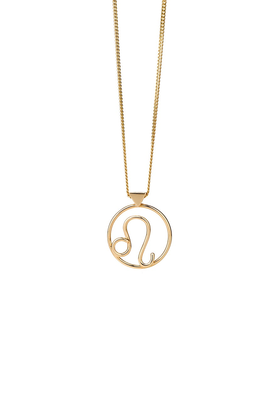 Leo Necklace Gold