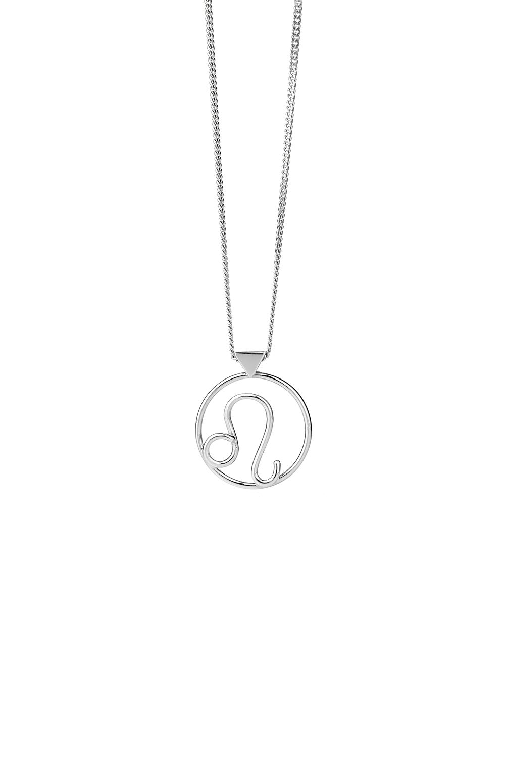 Leo Necklace Silver