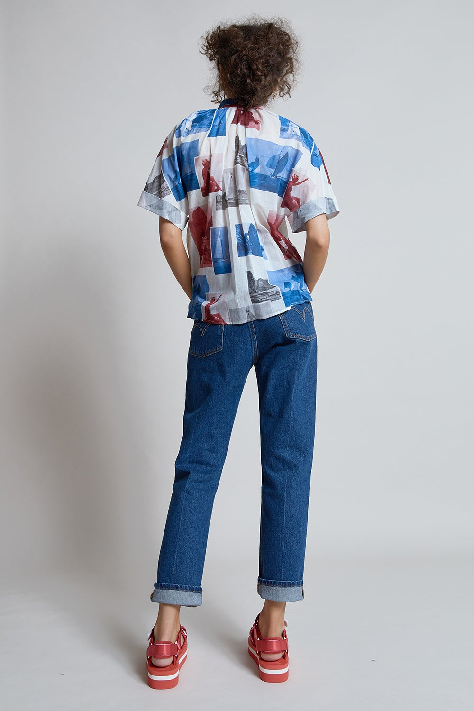 Levi's 501® Crop Jeans Charleston Pressed