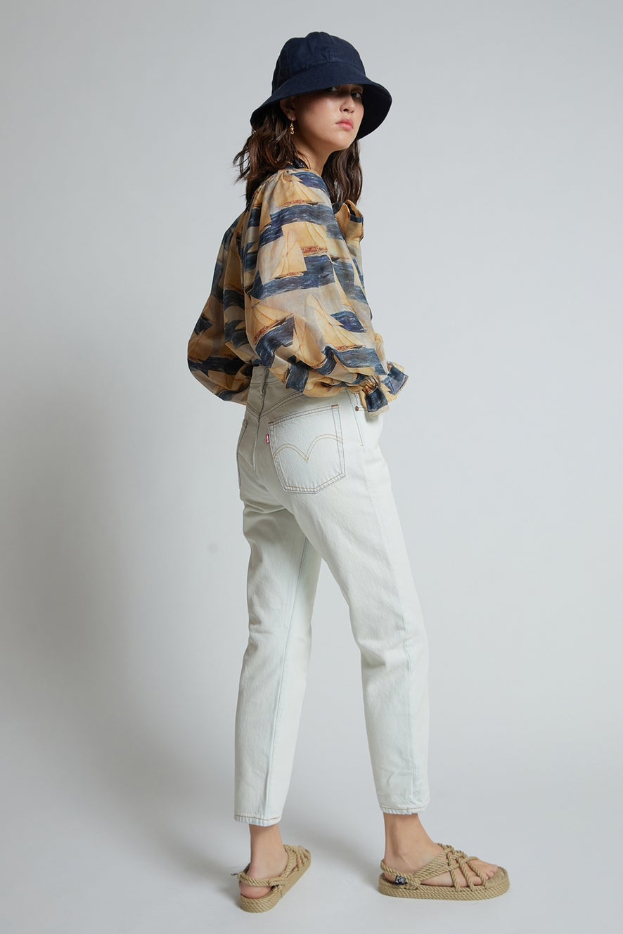 Levi's 501® Crop Jeans Glacier Bay