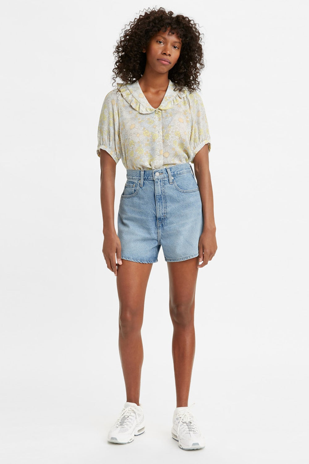 Levi's High Loose Shorts One Time