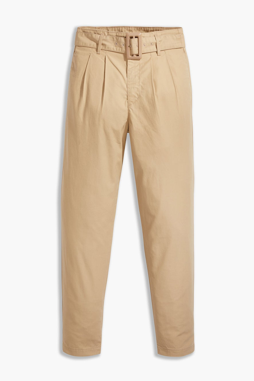 Levi's High Loose Taper Pants Soft Structure Incense