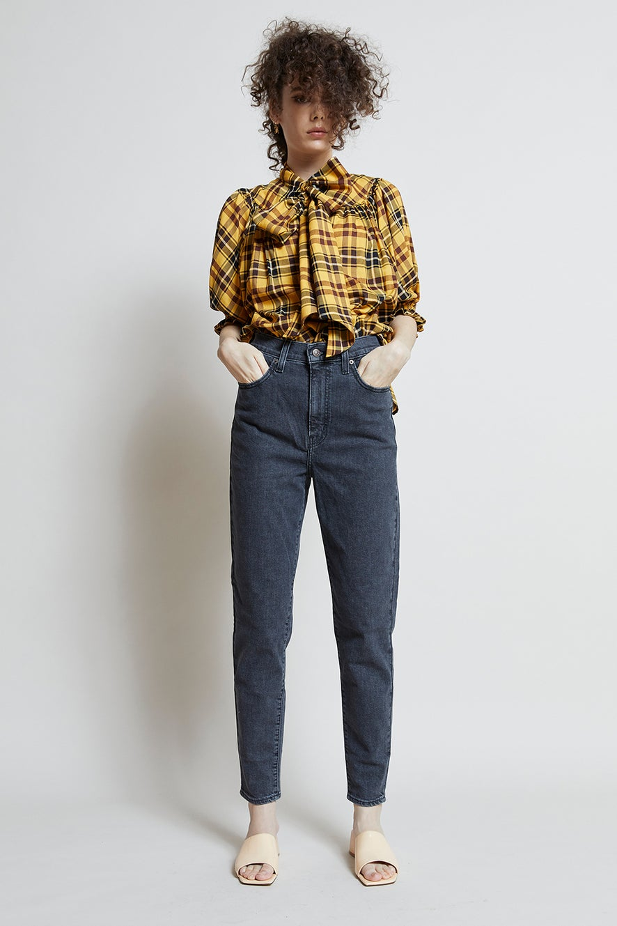 Levi's High Waisted Taper Jeans Bomb Dot Com
