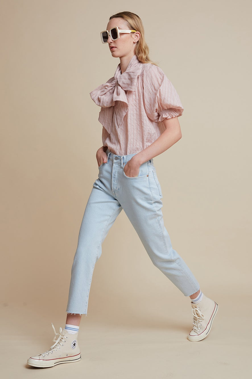 Levi's Made and Crafted 501® Crop Jeans Bleached Sand