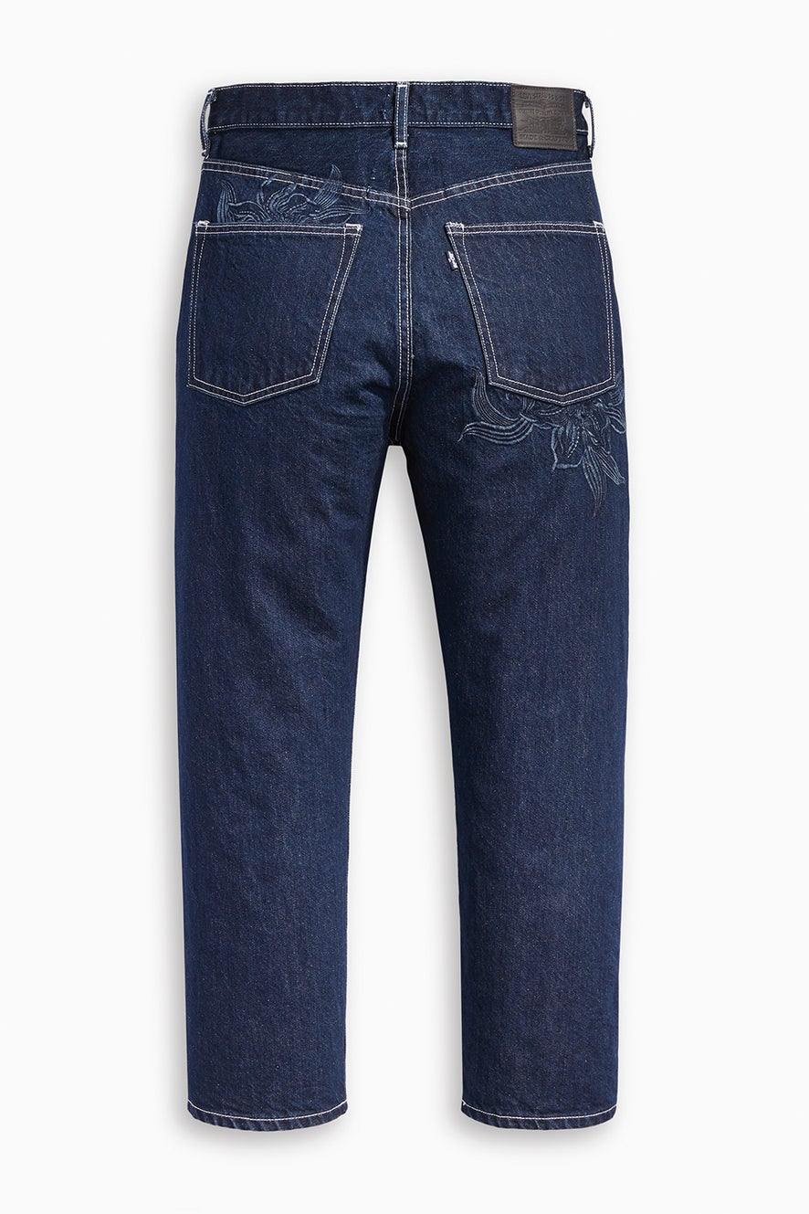 Levi's Made and Crafted Barrel Jeans Majorelle Blue