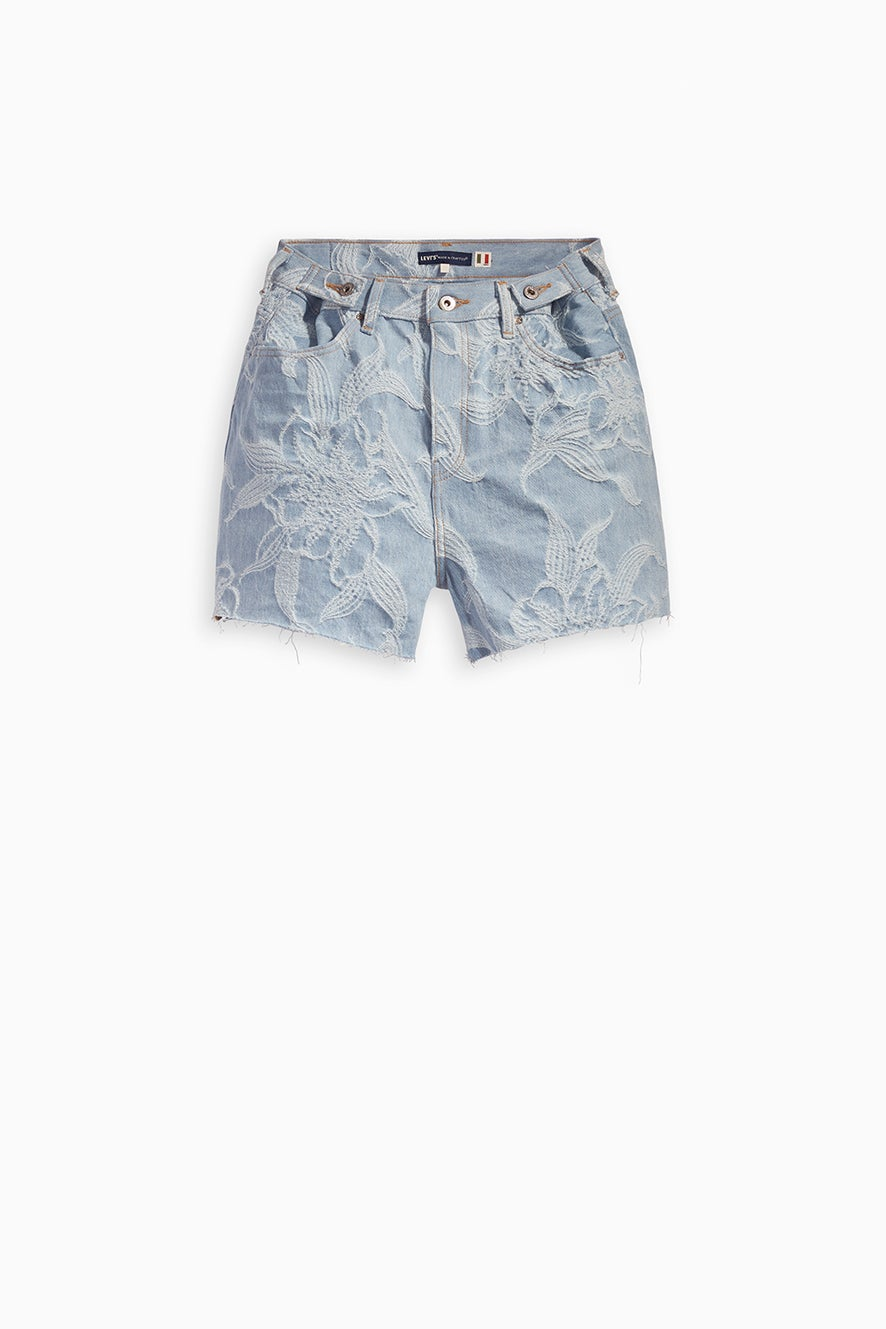 Levi's Made and Crafted Cinched Tab Short Jaquard Palms