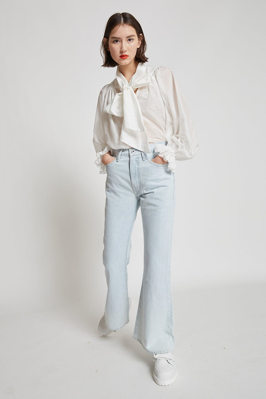 Levi's Made and Crafted High Rise Flares Freshies