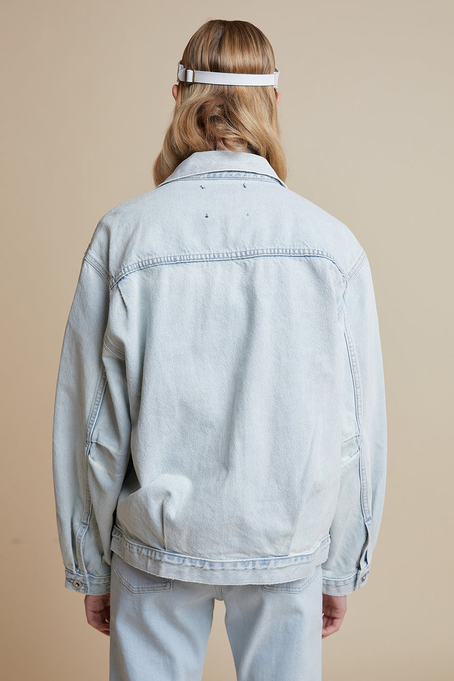 Levi's Made and Crafted Love Letter Trucker Poolside