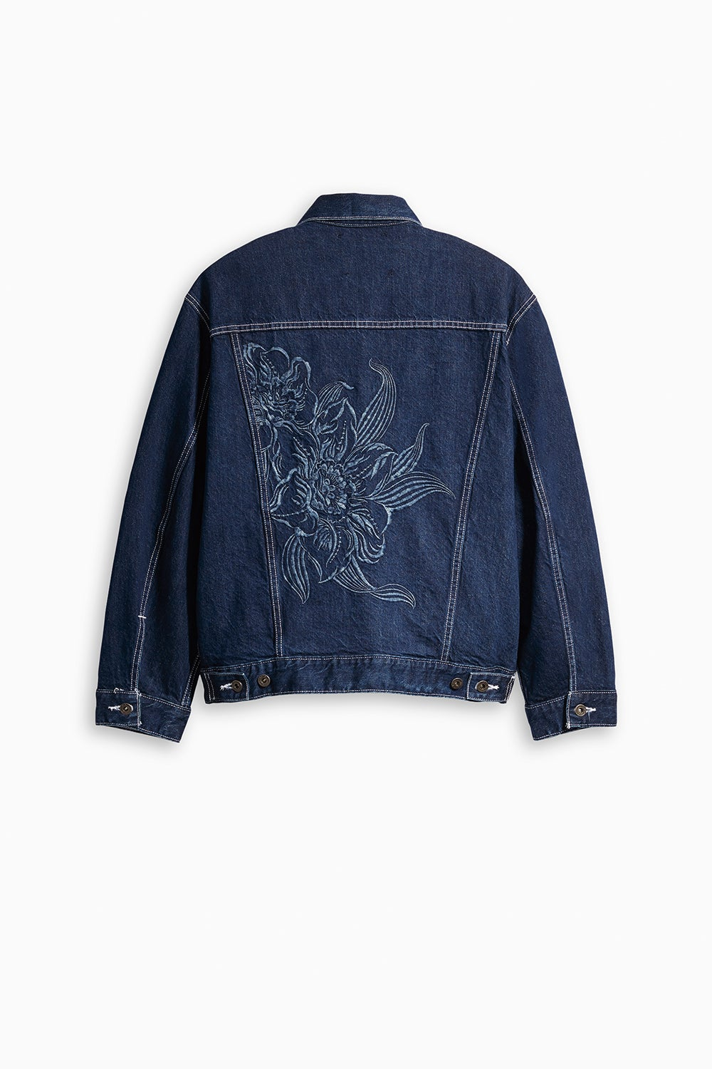 Levi's Made and Crafted Oversized Type III Trucker Majorelle Blue